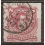 Argentina Mt 33 - Gj 49 A Usado Año 1876 Cortado En Linea