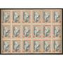 Argentina Estampilla Pro San Juan Pieza De 18 Sellos Mint