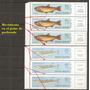 Argentina Variedad Peces Serie 879/ae 137 Gj 1553/4 Mint