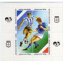 Argentina 1 Bloc Mint X 4 Copa Mundial De Fútbol Italia=90