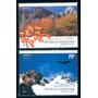 * Argentina 2003 Gj 3329/30 Mt 2598/99 Flora Fauna Upaep