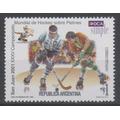 Argentina 2001 Correo Privado Oca Hockey Sobre Patines Mint