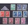 Bolivia, Lote 13 Sellos Aereos Serie 1939 Usados L0232