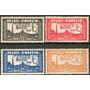 Brasil Serie Completa X 4 Sellos Nuevos Feria Año 1934