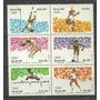 Serie De 6 Estampillas Brasil Año 1984 Juegos Olimpicos