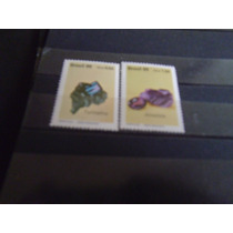 Brasil - Serie Completa Piedras Semi Preciosas 1989