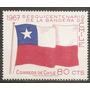 Chile Sesquicentenario De Bandera Yvert 321 Año 1967