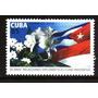 Cuba, Bandera, Flora, Cuba-indonesia, Año 2010 Yv 4823