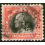 Estados Unidos Sello Usado B. Franklin Años 1918-19 X 2 D.