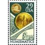 Filatelia: Estados Unidos Yv. 1963 (1991) Numismática