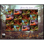 St. Lucia: Yv 1137-40 Fauna. Aves (2001) Hoja Completa **
