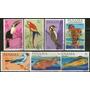 Panamá 2 Series Completas Usadas Fauna-aves-peces Año 1965