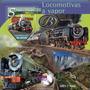 2015 Trenes Locomotoras A Vapor- Santo Tome Y Principe