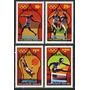 Antigua Barbura 1980 Olimpiadas Deporte Serie Completa Mint