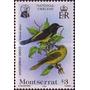 Filatelia: Montserrat Yv. 562/563 (1985) ¡flora Y Fauna!