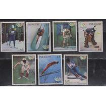 Paraguay, Deportes, Serie Completa De 7 Sellos Mint, 1980