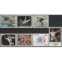Olímpicos Verano 1984 - Paraguay - Serie Mint (mnh)
