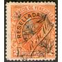 Venezuela Sello Usado Resellado Año 1900