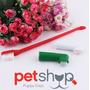 Kit De 3 Cepillos De Dientes Para Perros Y Mascotas