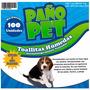 Toallitas Humedas Paño Pet X 100 Unidades Cachorro Petline