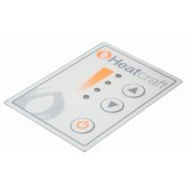 Placa Cerámica 1000w Con Control Electrónico De Temperatura.