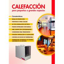 Calefactores electricos industriales argentina
