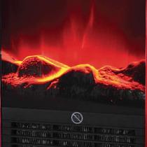 Calefactor Electrico Con Hogar Rojo Clever Fp1500 W Hermosos