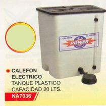 Calefon Electrico Plástico 20lts. Power Na7036#