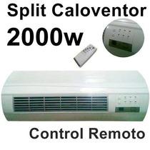 Caloventor Calefactor Split Eléctrico 2000 Watts// Garantía