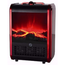 Calefactor Eléctrico Estufa Simil Hogar Luft 1500 W Fp1500