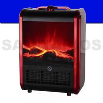 Calefactor Eléctrico Estufa Simil Hogar Clever 1500 W Fp1500