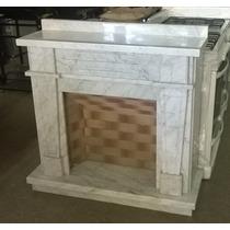 Hogar De Mármol De Carrara 1m Con Columnas