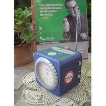 Retro Radio Reloj Sanyo Rm-2200 Faltan Agujas (6389)