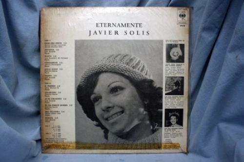 Eternamente De Javier Solís - Lp Vinilo