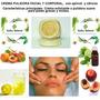 Crema Pulidora Facial Y Corporal, Con Apricot Y Cítricos