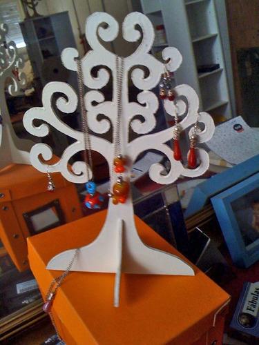 Exhibidores De Aros ; Collares Y Anillos