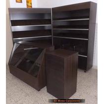 Set 4 Muebles Panadería - 1,8m Frente - Mel 18mm - Santa Fe