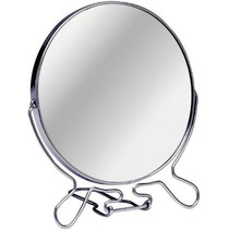 Espejo Doble Con Aumento 12cm, Ideal Maquillaje, Depilacion