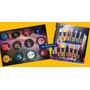 12 Maquillaje Artistico Pintafan X 4,2 G C/u + 12 Crayones