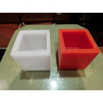 10 Fanales De Parafina Cuadrados 14x14 Aroma Y Color