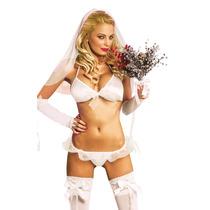 Disfraz Erotico - Disfraz Erotico Recien Casada - Sexshop