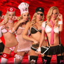 Disfraz Sexy Erótico Cocin Pirata Secretaria Presidiaria Pol