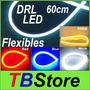 Tira Led Drl Flexible 60cm + Kit De Instalacion
