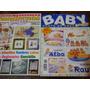 Lote X 4 Revistas Bordado Baby Labores De Ana Punto Cruz Pal