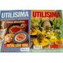 Lote De 2 Revistas Utilisima Pintura Sobre Vidrio Patinas