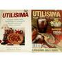 Lote De 2 Revistas Utilisima Pintura Sobre Seda - Vitreaux