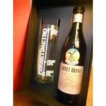 Fernet Branca + Vaso Medidor En Caja De Regalo