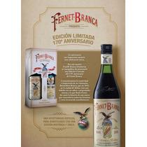 Fernet Branca Edición Limitada 170 Aniversario Banfield