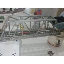 Puente Metalico Para Maqueta H0