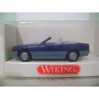 Nico Merc Benz 500 S L Cabriolet Azul Wiking 1/87 H0(rwh 76)